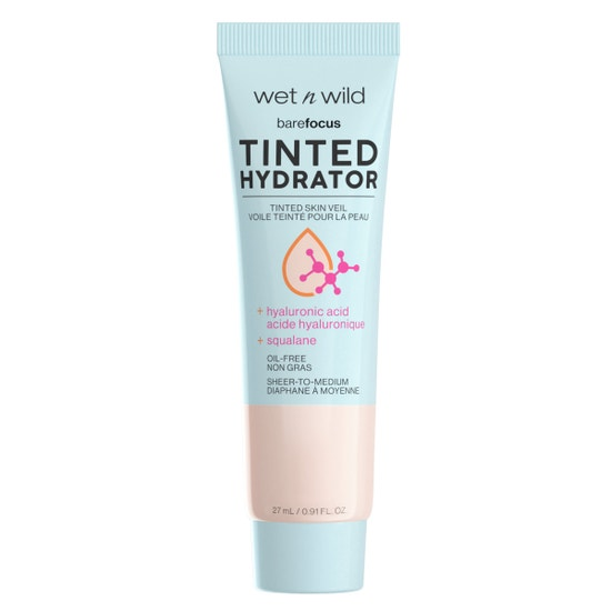 wet n wild | Bare Focus Tinted Hydrator Tinted Skin Veil- Porcelain | Product front facing on a white background