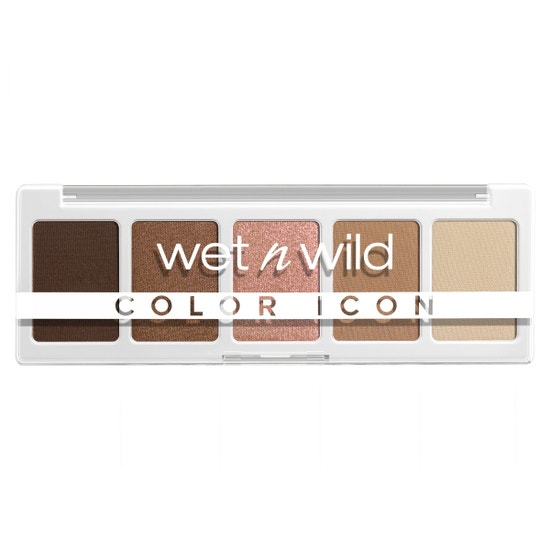 wet n wild | Color Icon 5-Pan  Palette- Walking On Eggshells | Product front facing on a white background