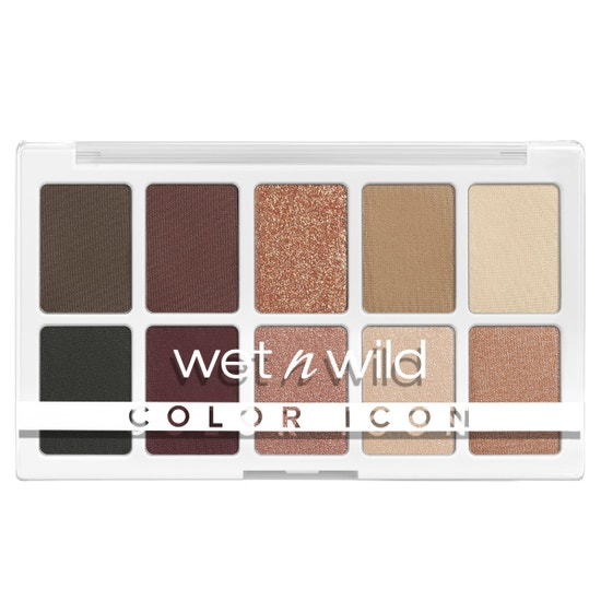 wet n wild   Color Icon 10-Pan Palette- Nude Awakening   Product front facing on a white background