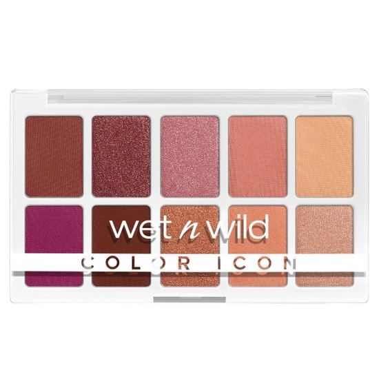 wet n wild | Color Icon 10-Pan Palette- Heart & Sol | Product front facing on a white background