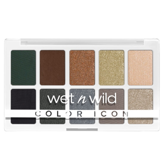 wet n wild | Color Icon 10-Pan Palette- Lights Off | Product front facing on a white background