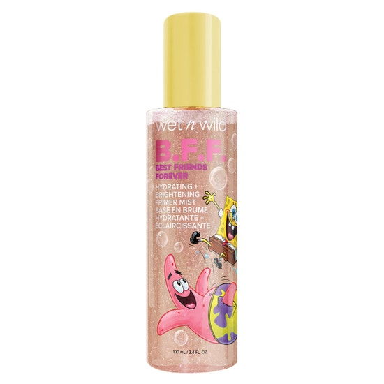 B.F.F. Hydrating + Brightening Primer Mist | wet n wild | Product front facing cap fastenend, with no background