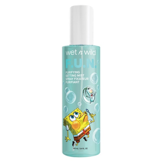 F.U.N. Purifying Setting Mist | wet n wild | Product front facing cap fastened, with no background