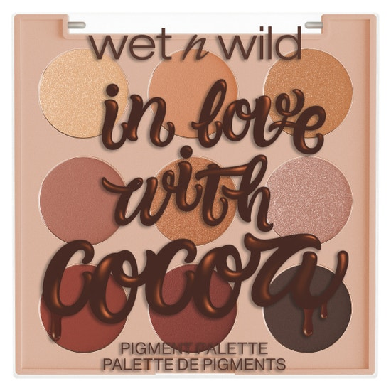 In Love With Cocoa 9 Pan Shadow Palette | Wet n wild | Product front facing lid closed, with no background
