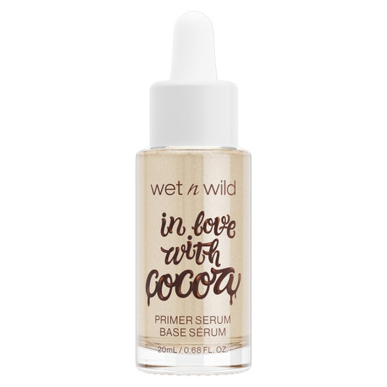 In Love With Cocoa Primer Serum | Wet n wild | Product front facing cap fastened, with no background