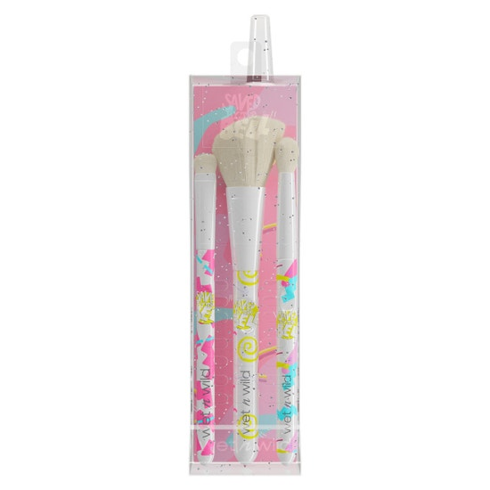 Zack Attack Live Performing at the Max Brush Set   Wet n wild   Product front facing in packaging, with no background