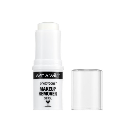 Wet n Wild | Photo Focus Makeup Remover Stick - Product front facing with cap off on a white background