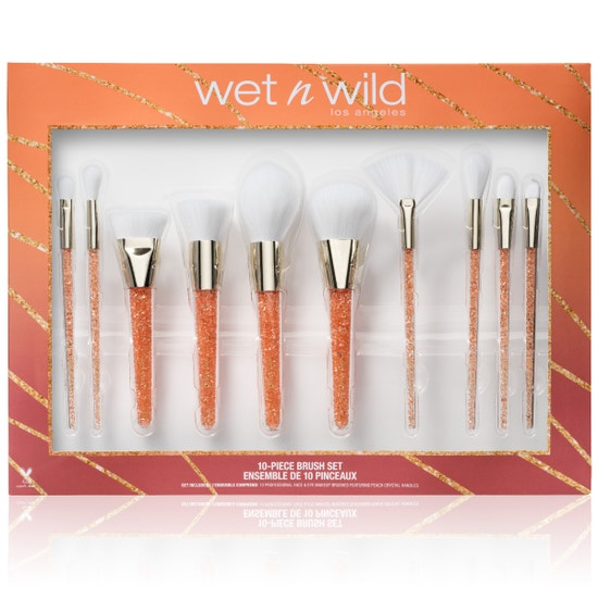 Wet n Wild | 10 Piece Brush Set - Product front facing on a white background