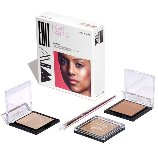 Wet n Wild | WNW Edit - Light Layers - Products laid out on a white background