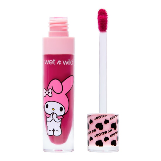 wet n wild | Liquid Matte Lip Color-Sweetie Pie-Product front facing open showing applicator on a white background