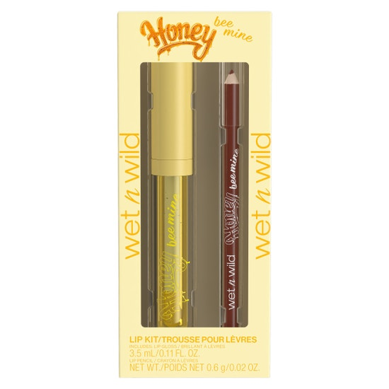 Honey Bee Mine Lip Kit | Wet n wild | Product front facing in packaging, with no background