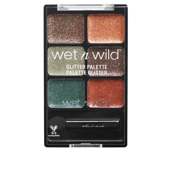Wet n Wild | Fantasy Makers Glitter Palette- Neutrals - Product front facing on a white background