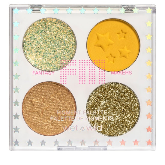 wet n wild | Fantasy Makers Pigment Palette- Kiss My Sun Rays| Product front facing on white background