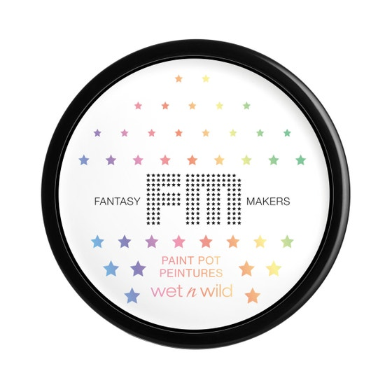 wet n wild \ Fantasy Makers Paint Pot- White | Product front facing on a white background