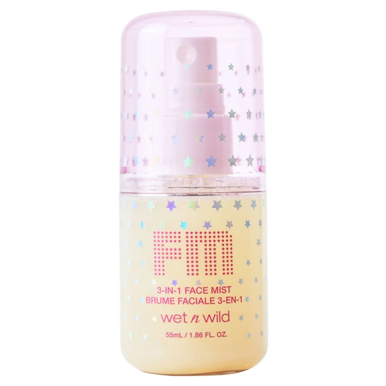 Fantasy Makers 3-in-1 Face Mist - Dewy Illusion | wet n wild | Product front facing cap fastenend, with no background