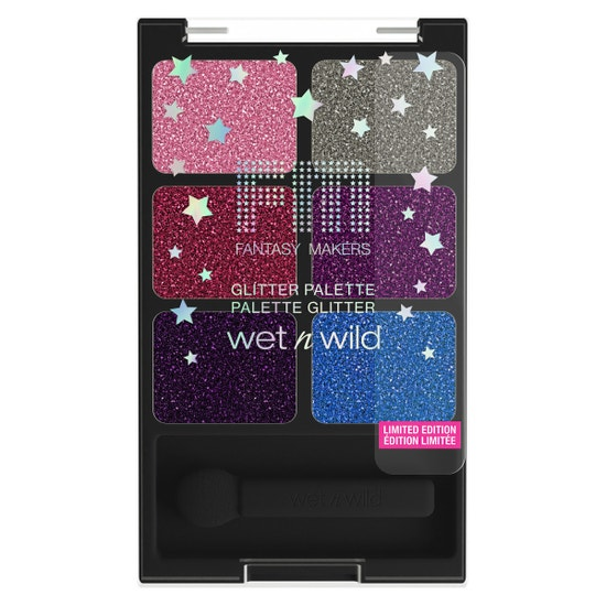wet n wild   Fantasy Makers Glitter Palette - Rest in Pink  Product front facing on a white background