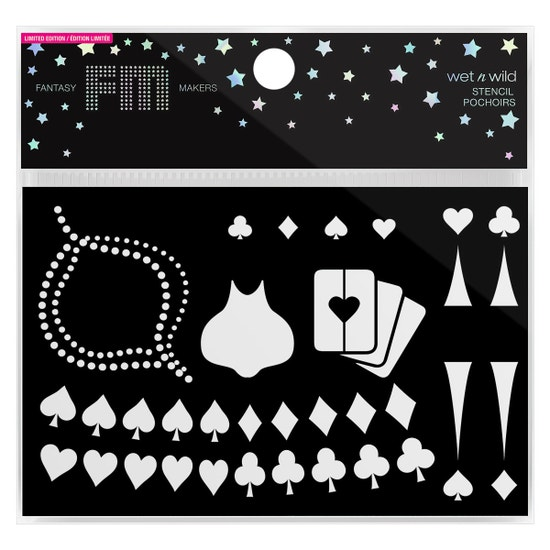 wet n wild  Fantasy Makers Stencil - Magic Trickster  Product Front Facing in packaging, No Background