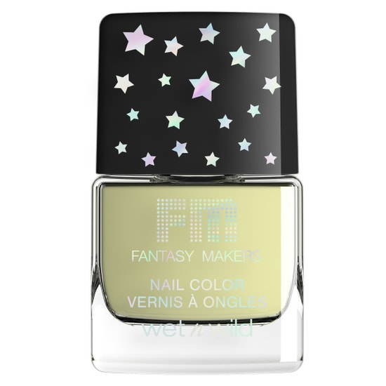 wet n wild  Fantasy Makers Nail Polish - Glow in the Dark Top Coat   Product Front Facing, Closed Cap, No Background