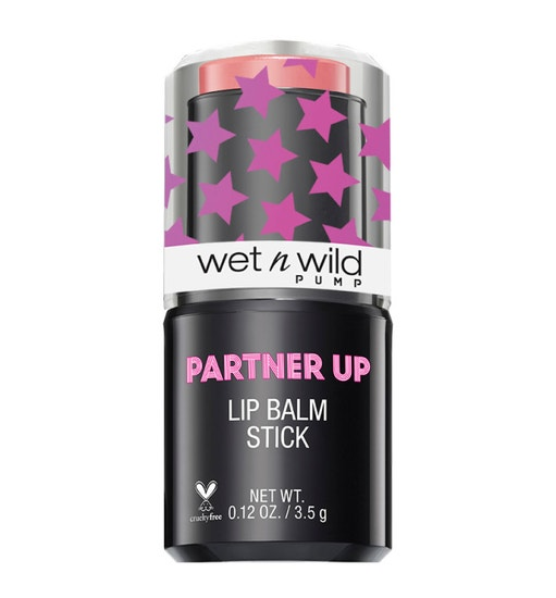 Wet n Wild | Partner Up Lip Balm Stick- Coral Conditioning - Product front facing on a white background