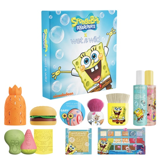 SpongeBob SquarePants PR Box | wet n wild | Product front facing, with no background
