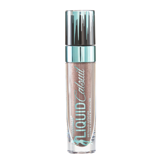 Wet n Wild | MegaLast Liquid Catsuit Metallic Lipstick- Shall We Slay - Product front facing on a white background