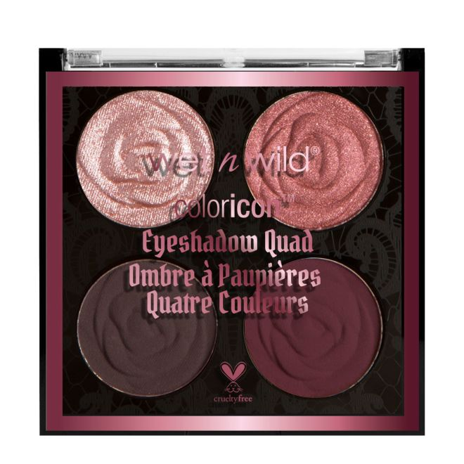 Rebel Rose Color Icon Eyeshadow Quad- Bed Of Roses