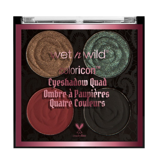 Wet n Wild | Rebel Rose Color Icon Eyeshadow Quad- House of Thorns - Product front facing on a white background