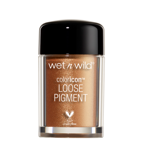 Wet n Wild | Color Icon Loose Pigment - Gold - Product front facing on a white background
