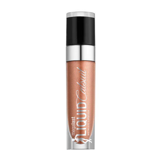 Wet n Wild | Fantasy Makers MegaLast Liquid Catsuit Metallic Lipstick-Witch and Famous - Product front facing on a white background