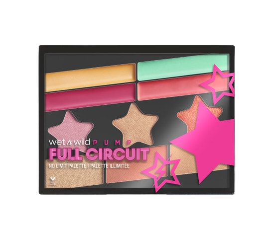 Wet n Wild | Full Circuit No Limit Palette- Warm Up - Product front facing on a white background