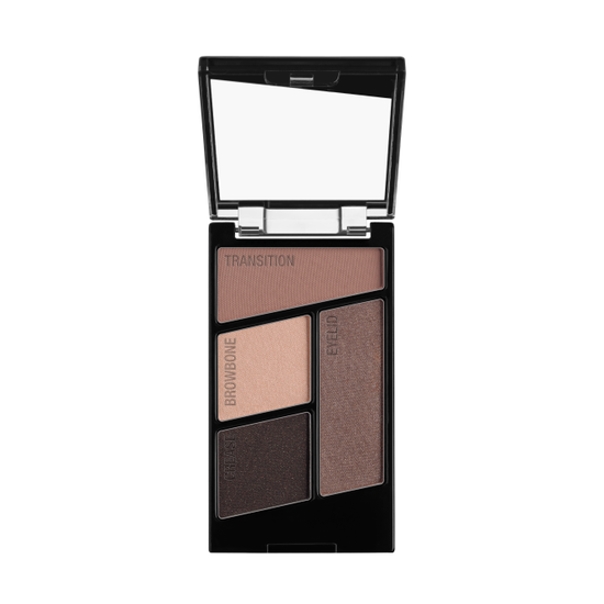 Wet n Wild | Color Icon Eyeshadow Quad-Silent Treatment - Product front facing with cap off on a white background
