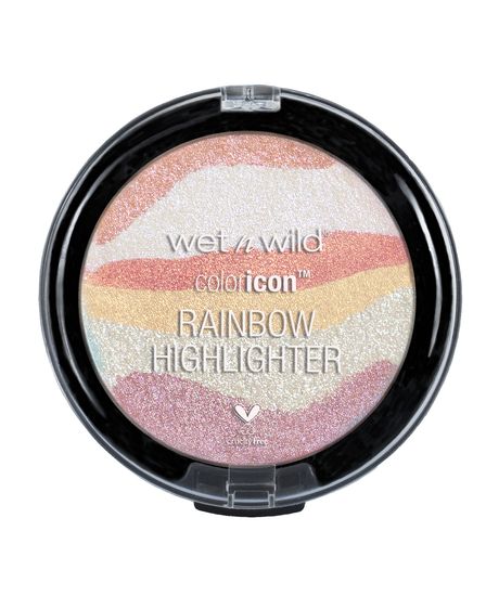 Wet n Wild | Color Icon Rainbow Highlighter - Everlasting Glow - Product front facing on a white background