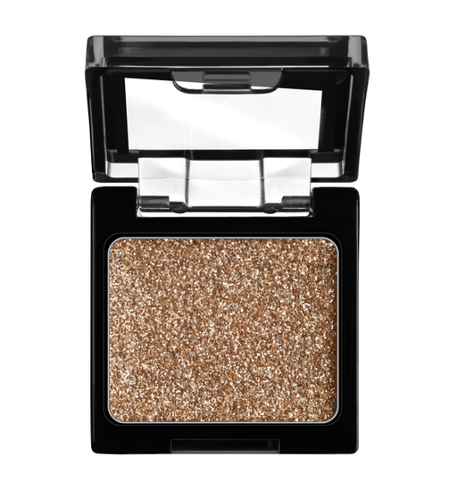 Wet n Wild | Color Icon Glitter Single-Brass - Product front facing with cap off on a white background