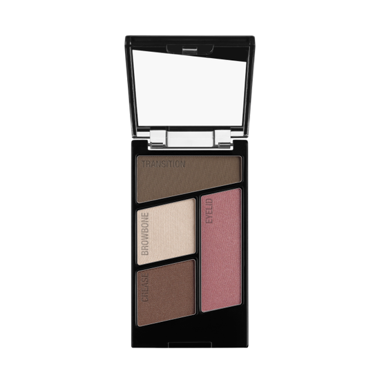 Wet n Wild | Color Icon Eyeshadow Quad-Sweet As Candy - Product front facing with cap off on a white background