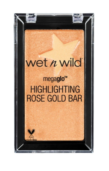 Wet n Wild | MegaGlo Highlighting Bar- Baby It's Rose-Gold Outside - Product front facing on a white background