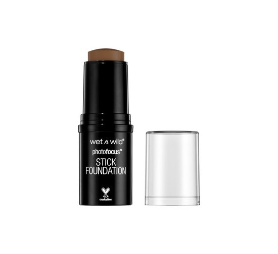 Wet n Wild | Photo Focus Stick Foundation-Walnut - Product front facing with cap off on a white background