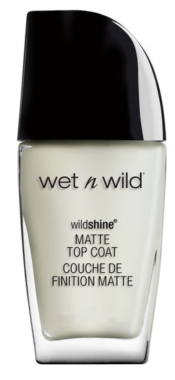 Wet n Wild | Wild Shine Nail Color Matte Top Coat - Product front facing on a white background