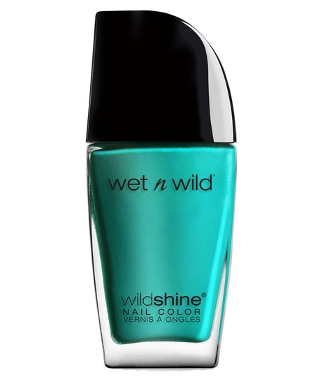 Wet n Wild | Wild Shine Nail Color- Be More Pacific - Product front facing on a white background