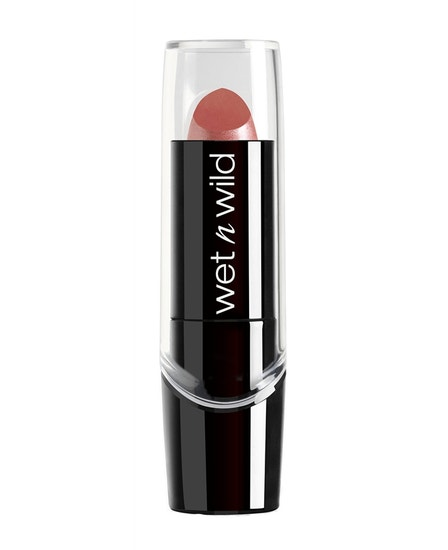 Wet n Wild | Silk Finish Lipstick-Dark Pink Frost - Product front facing on a white background