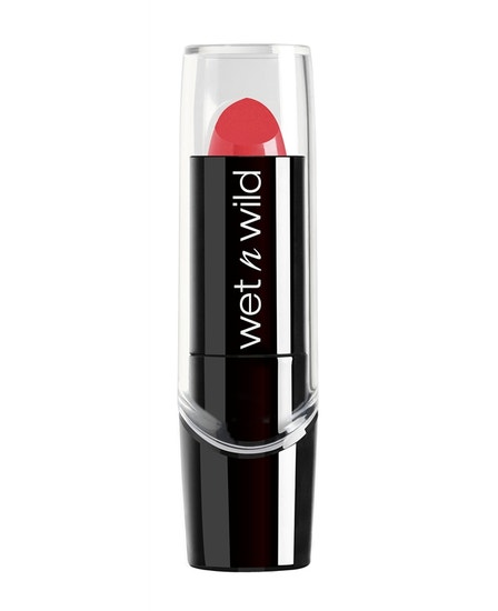 Wet n Wild | Silk Finish Lipstick-Hot Paris Pink - Product front facing on a white background