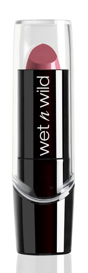 wet n wild | Silk Finish Lipstick | Product front facing on a white background