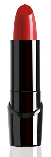 Wet n Wild | Silk Finish Lipstick-Raging Red - Product front facing with cap off on a white background