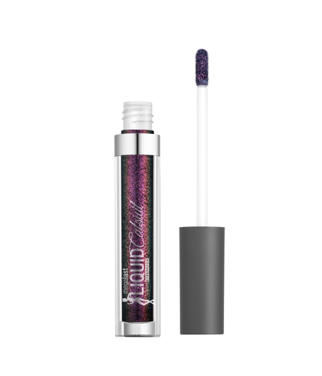 Wet n Wild | Megalast Liquid Catsuit Liquid Eyeshadow-When the Stars Align - Product front facing with cap off on a white background