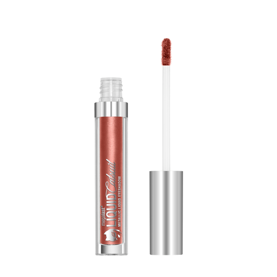 Wet n Wild | MegaLast Liquid Catsuit Metallic Eyeshadow- You Copper Cat - Product front facing with cap off on a white background