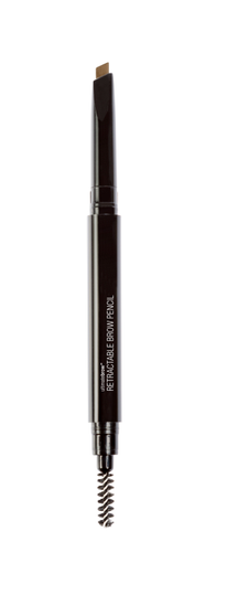 Wet n Wild | Ultimate Brow Retractable-Taupe - Product front facing with cap off on a white background