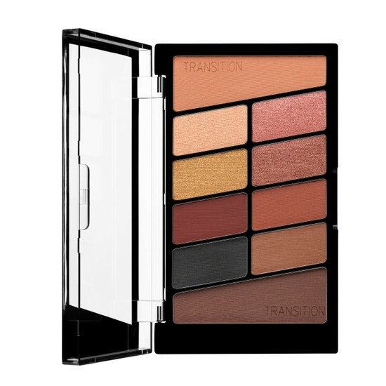 Wet n Wild | Color Icon 10 Pan Eyeshadow Palette- My Glamour Squad - Product front facing open on a white background