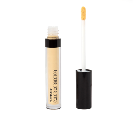 Wet n Wild | Photo Focus Color Corrector - Yellow - Product front facing with cap off on a white background