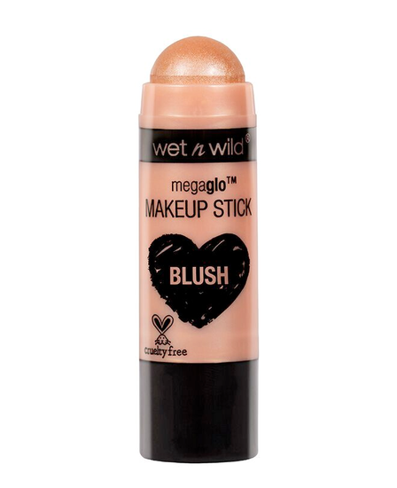 Wet n Wild | MegaGlo Makeup Stick-Hustle & Glow - Product front facing with cap off on a white background
