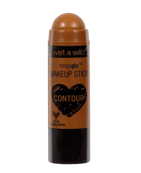 Wet n Wild | MegaGlo Makeup Stick-Call Me Maple - Product front facing with cap off on a white background