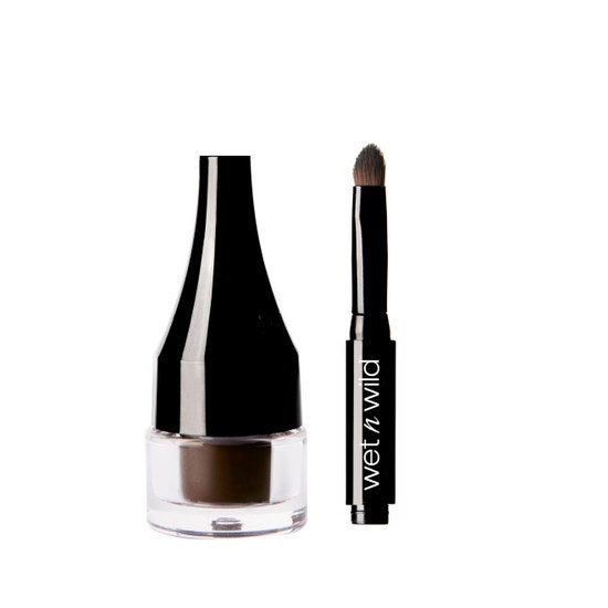 Wet n Wild | Ultimate Brow Pomade-Brunette - Product front facing with cap off on a white background